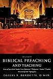 Biblical Preaching and Teaching, Dallas R. Burdette, 1609579186