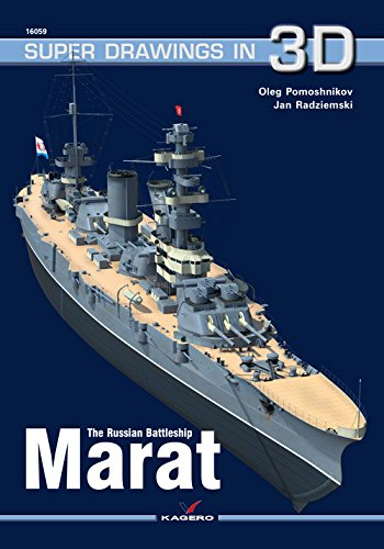 The Russian Battleship Marat (Super Drawings in 3D)