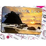Costa rica special tourism souvenir Magnetic fridge magnet in costa rica