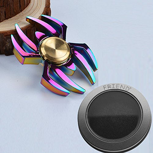 Metal Playful Spider Spinner Toys For Hand Colorful