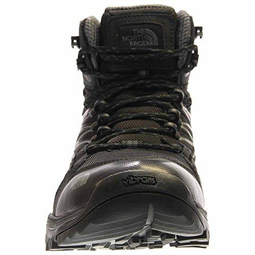 Der North Face Hedgehog Fastpack Mid GTX Wide Boot Herren Tnf Schwarz / Dunkel Schatten Grau