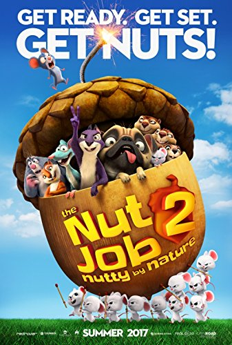 NUT JOB 2: NUTTY BY NATURE (2017) Original Authentic Movie Promo Poster 11x17 - Jeff Dunham - Will Arnett - Maya Rudolph - Jackie Chan - Katherine Heigl
