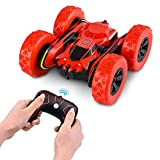 Abco Tech Remote Control RC Stunt Car Toy or Monster Truck – Nickel Cadmium Battery AA -2.4 GHz RC 4WD Buggy – 12 km/hr Speed with 80 m Control Distance - 360° Flip Design Remote Control Stunt Car