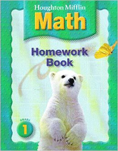 Math Worksheets houghton mifflin math worksheets grade 5 : Houghton Mifflin Math: Homework Book (Consumable) Grade 1 ...