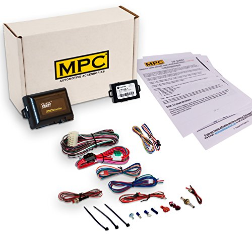 Add-on Remote Start Kit for 2002-2008 Chevrolet Trailblazer - Uses Factory Remote - w/Bypass Module - Firmware Preloaded