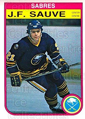 (CI) JF Sauve Hockey Card 1982-83 O-Pee-Chee (base) 33 JF ()