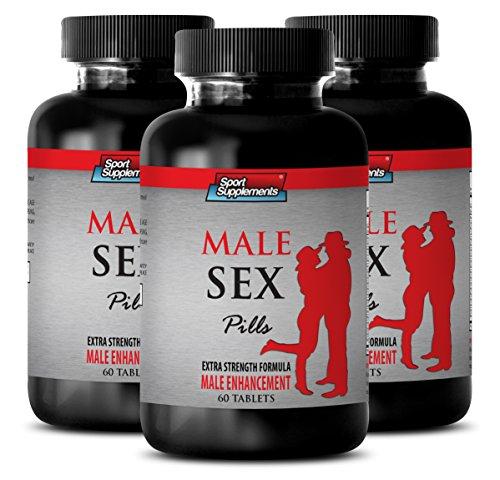 testosterone booster for men libido - MALE SEX PILLS - EXTRA STRENGTH FORMULA - MALE ENHANCEMENT - maca magic capsules - 3 Bottles (180 ()