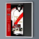 Nielsen Box Frames 70 x 90 cm Frosted Silver, Football Shirt Frames