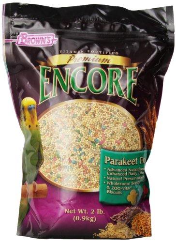 F.M. Brown's Encore Parakeet Food, 2-Pound