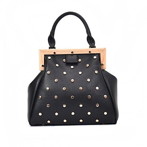 à Bag Sac Diamant Bandoulière Simple Messenger Main Pour DHFUD élégant à Black Et Sac Femme pqFwYw