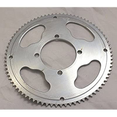 #25 Chain Sprocket - 80 Tooth - I.D 54mm (x4 bolt) for Razor MX350, MX400 Dirt Rockets : Sports & Outdoors