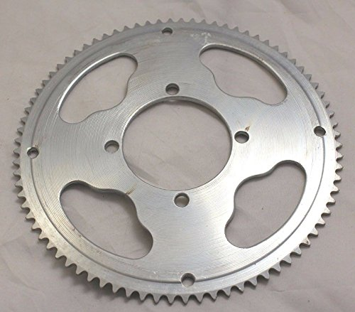 80 Tooth - I.D 54mm (x4 bolt) for Razor MX350, MX400 Dirt Rockets (25 Chain Sprocket)