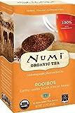 Numi Organic Tea Rooibos, (Pack of 3 Boxes) 18 Bags Per Box, Organic Rooibos Tea in Non-GMO Biodegradable Tea Bags, Caffeine Free Herbal Tea, Premium Organic Non-Caffeinated Rooibos Tisane, Red Tea