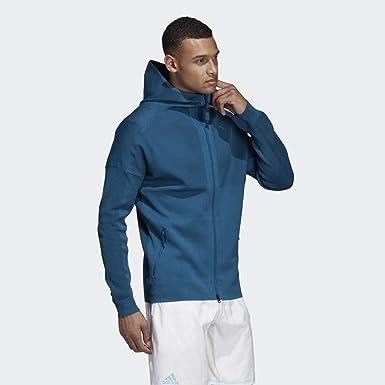 adidas Parley Zne HDY Sudadera, Hombre, Azul (petnoc), 2XL