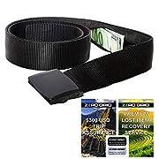 Travel Security Belt – Hidden Money Belt, Anti Theft Travel Belt TSA Approved