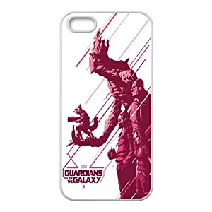 Guardians Of The Galaxy iPhone 5 5s Cell Phone Case White WK5273482