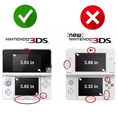 MARIO KART Design Nintendo 3D 3DS Vinyl Skin Decal Sticker(Matte Finish)+ Free Screen Protector Set