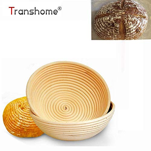 HOT- Baking & Pastry Tools - Banneton Round Oval Long Bread Dough Fermentation Rattan Basket Bread Dough Bread Baking Pastry Tools Kitchen Gadget - by Tini - 1 PCs by Chamomile.