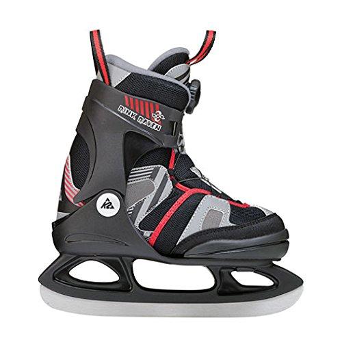 Boa Ice Skate, Black, Size 4-8 (K2 Boa Boots)