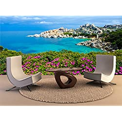 Wall Print Capo Testa - Beautiful coast of sardinia Wall Print Wall Mural Wall Decal Wall Tapestry