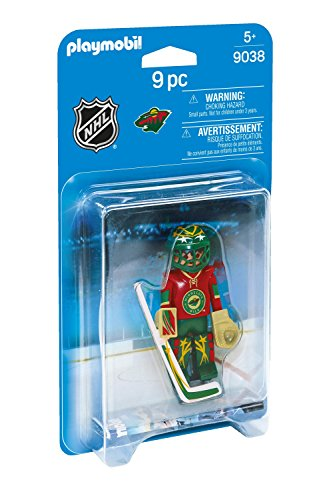 PLAYMOBIL NHL Minnesota Wild Goalie - Minnesota Wild Set