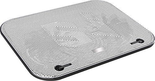 Dual Fan Cooling Pad Vented Lap Desk For Laptops White. Ideal Stand For Gaming And Heavy Processing for Macbook Samsung Ultrabook Toshiba Lenovo Acer Asus Dell Hp Sony (Laptop Desk Fan compare prices)