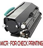 New Era Toner Replacement MICR Toner Cartridge for Lexmark (E260A11A E260A21A, E360H11A, E460X11A) E260, E360, E460, E462 Series - For Checks