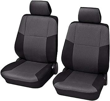 Schwarz Sitzbezüge für ALFA ROMEO 156 Autositzbezug VORNE