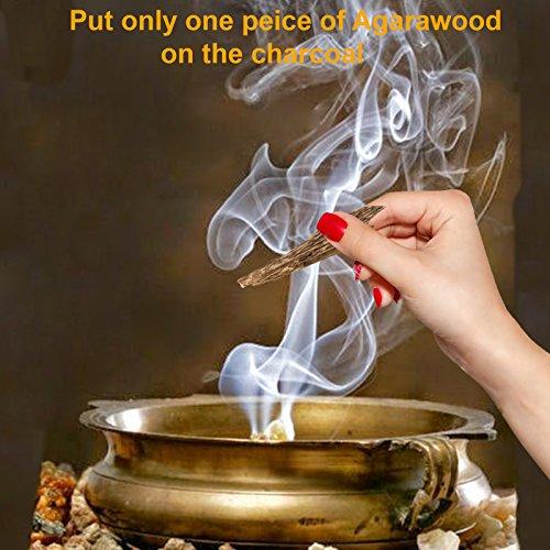 Mohavy Original Smith V Wood Agarwood Oud Chips Aquilaria Bakhoor Incense