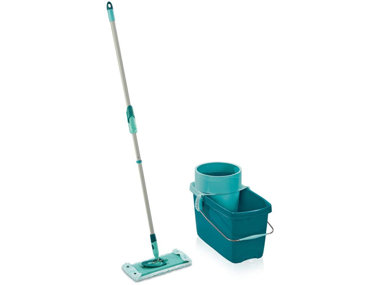 Leifheit 52014 Set Clean Twist System Plastique Bleu Turquoise