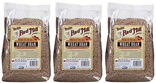 - Bob's Red Mill Wheat Bran - 20 oz - 3 pk