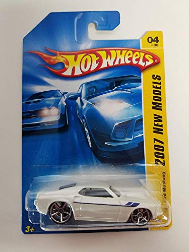Mattel Hot Wheels 2007 New Models 1:64 Scale Yellow 1969 Ford Mustang Die Cast Car