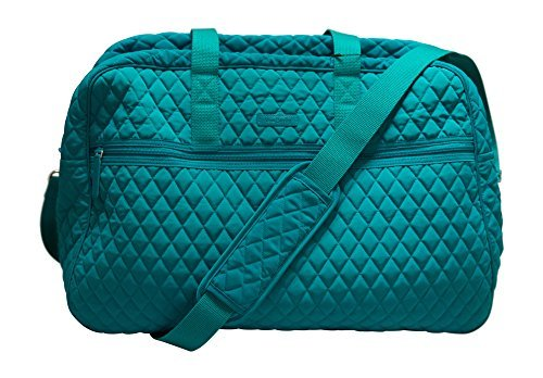 Vera Bradley Grand Traveler Bag, Peacock Blue