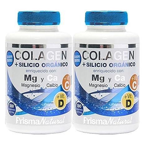 COLAGENO + MAGNESIO + SILICIO 2 x 180 Cáps. PRISMA NATURAL