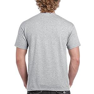 Gildan Men's Ultra Cotton Adult T-Shirt, 2-Pack, Sport Grey, 3X-Large
