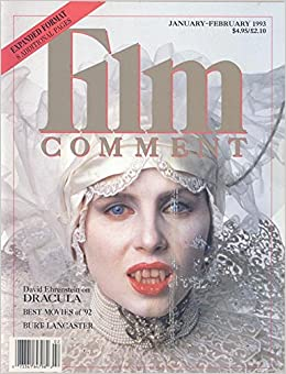 Film Comment Magazine January February 1993 Sadie Frost In Dracula On Cover Various Articles Amazon Com Books