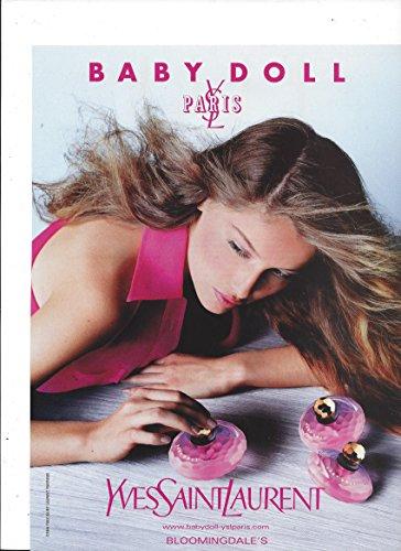 magazine-advertisement-for-1999-yves-saint-laurent-baby-doll