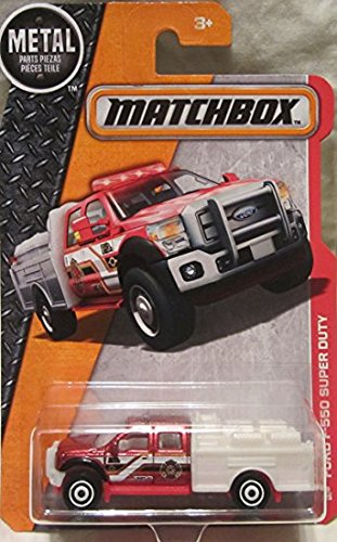 MATCHBOX 2016 MBX Heroic Rescue Ford F-550 Super Duty 89/125 by Matchbox