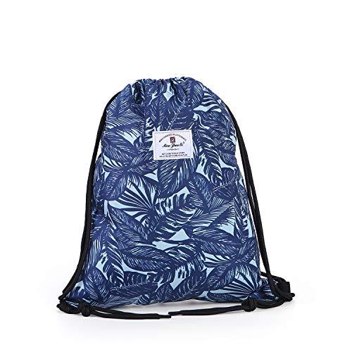 ec7a7bfcec37 Drawstring Bag Dry Wet Floral Backpack Waterproof Lightweight Tote Pool  Beach Travel Gym Bags
