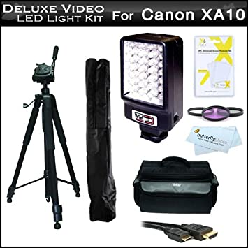 LED Light Kit For Canon XA10 Professional Camcorder Includes Deluxe LED Digital Video with Support Bracket & Amazon.com : LED Light Kit For Canon XA10 Professional Camcorder ... azcodes.com