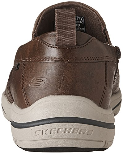 Skechers Men's Harper-Forde Driving Style Loafer Chocolate genuine outlet comfortable clearance low price fee shipping CMrPqPB