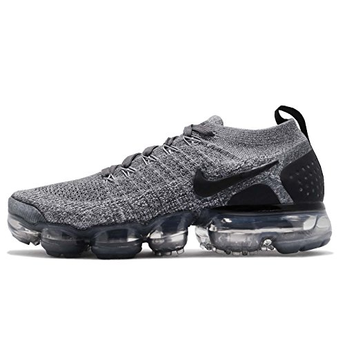 Femme Black Wolf Multicolore Chaussures Grey Vapormax NIKE W 2 Dark Grey 002 de Compétition Flyknit Air Black Running wwpHqzxO