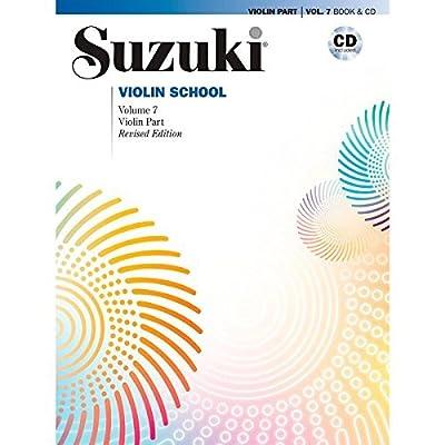 Alfred Suzuki Violin School Violin Part & CD, Volume 7 (Revised)