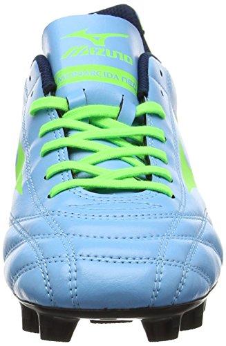 Mizuno Monarcida Neo Md, Botas de Fútbol para Hombre Azul (Norse Blue/neon Green)