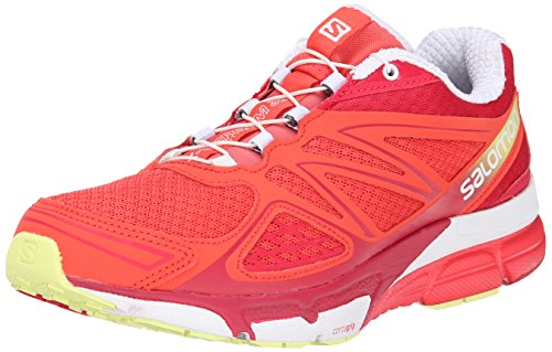 Pink Scream Femme de Salomon Lotus X Compétition 3D b Papaya x Flashy Chaussures Running qPHFUp