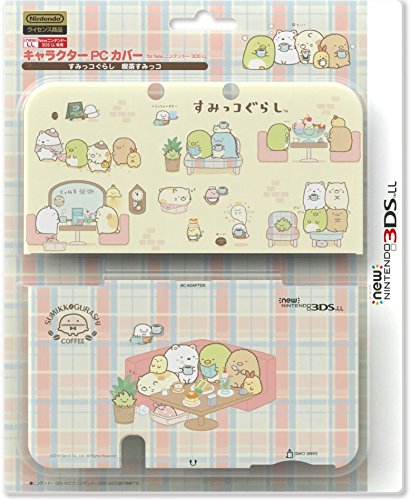New Case I&t - Nintendo and San-X Official Kawaii new3DS XL Hard Cover -Sumikko Gurashi (Things in the Corner) Cafe-