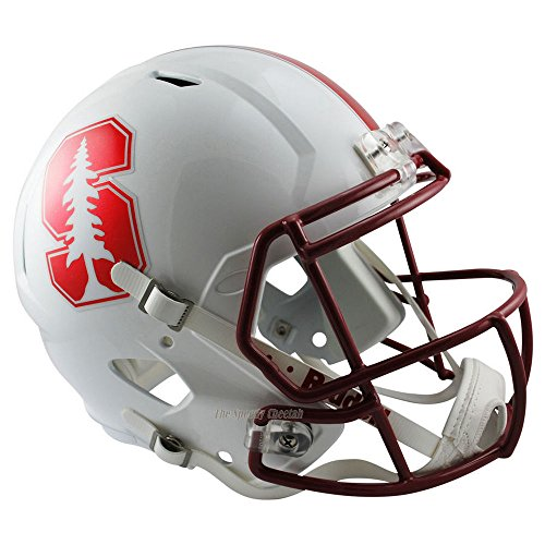 Stanford Cardinal Officially Licensed NCAA Speed Full Size Replica Football Helmet by Riddell
