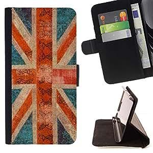 Momo Phone Case / Flip Funda de Cuero Case Cover - Bretagne rustique Gb Londres - Samsung Galaxy Note 3 III