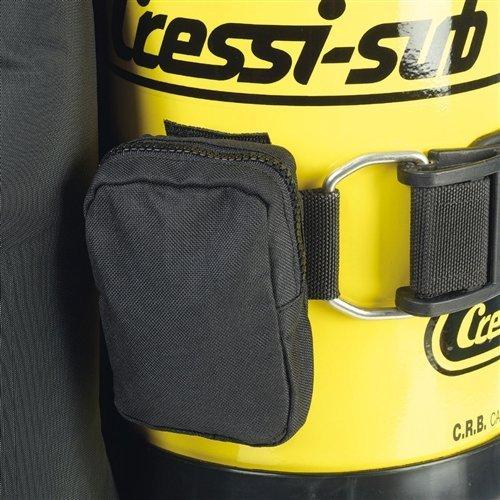 Cressi ic760099Tank Riemen Gewicht Tasche, Schwarz von Cressi USA.