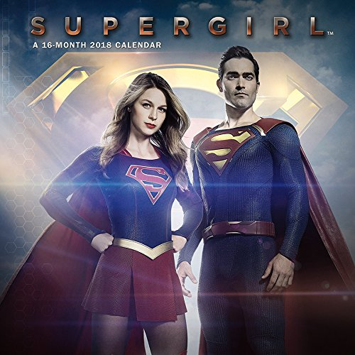 Supergirl 2018 Wall Calendar ()